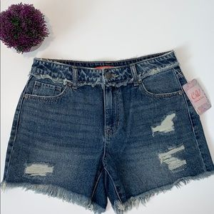 C&V Chelsea and Violet Jean Shorts Size 27 New